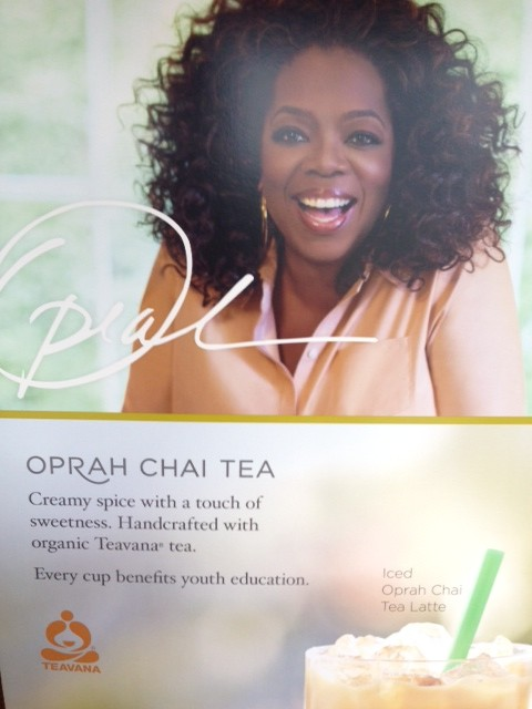 Oprah at Starbucks