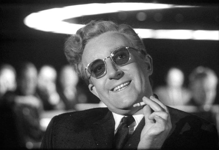 """""""Il dottor Stranamore - Ovvero: come ho imparato a non preoccuparmi e ad amare la bomba"""""""