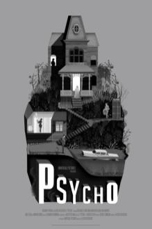 """PSYCHO"" Poster Artist: Adam Simpson"