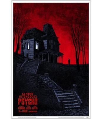 """""""PSYCHO"""" Poster Artist: Daniel Danger"""