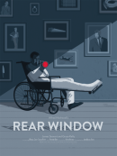 """REAR WINDOW"" Poster Artist: Stephen Schmitz"