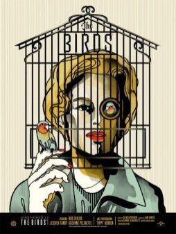 """""""THE BIRDS"""" Poster Artist: We buy your kids"""