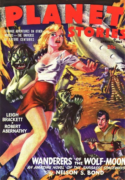 PLANET STORIES COVER - SPRING 1944