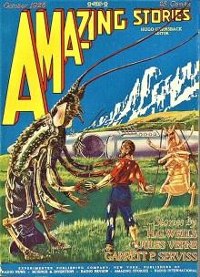 PULP MAGAZINE COVER, AMAZING STORIES OCTOBER 1926