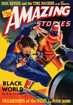 AMAZING STORIES - March 1940