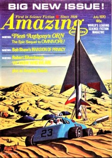 PULP MAGAZINE COVER - AMAZING STORIES, JULY 1970