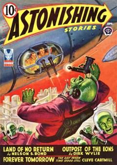 ASTONISHING STORIES - April 1943