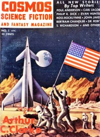 PULP MAGAZINE COVER - COSMOS SCIENCE FICTION AND FANTASY, SEPTEMBER 1953