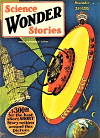 PULP MAGAZINE COVER - SCIENCE WONDER STORIES, NOVEMBER 1929