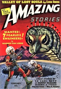 AMAZING STORIES - February, 1939