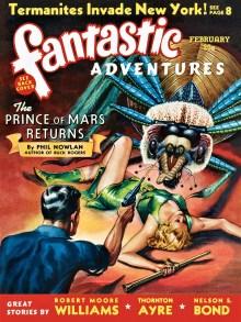 FANTASTIC ADVENTURES - February, 1940