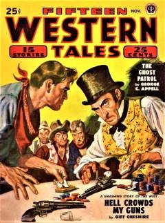 FIFTEEN WESTERN TALES - November, 1949