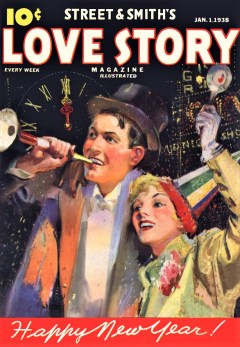LOVE STORY MAGAZINE - January first, 1938