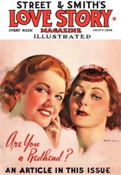 LOVE STORY MAGAZINE - July 11th, 1936