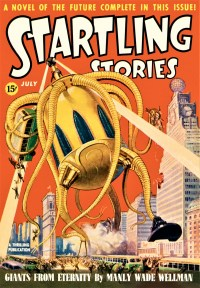 STARTLING STORIES COVER - July, 1939