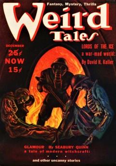 WEIRD TALES - December, 1939
