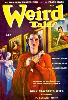 WEIRD TALES - May, 1943