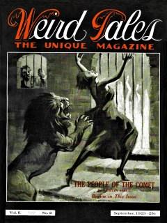 WEIRD TALES - September, 1923