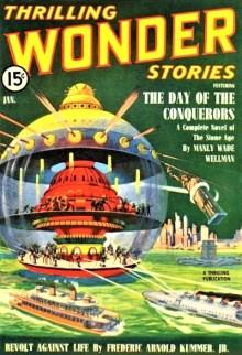 THRILLING WONDER STORIES - January, 1940