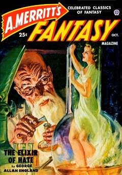 A. MERRITT'S FANTASY MAGAZINE - October 1950