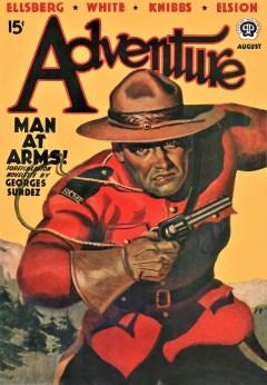 ADVENTURE - August 1939