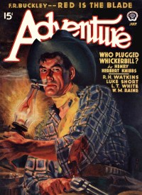 ADVENTURE COVER - July 1940