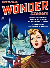 THRILLING WONDER STORIES COVER - August 1951