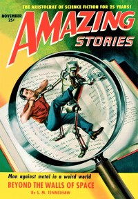 AMAZING STORIES COVER - November 1951