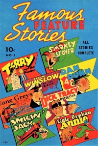 READ - FAMOUS FEATURE STORIES 1938