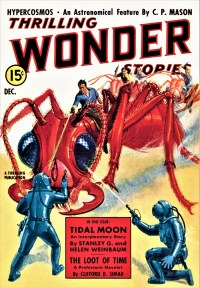 THRILLING WONDER STORIES COVER - December 1938