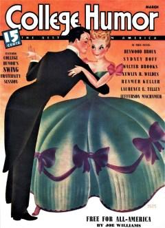COLLEGE HUMOR MAGAZINE - March 1939