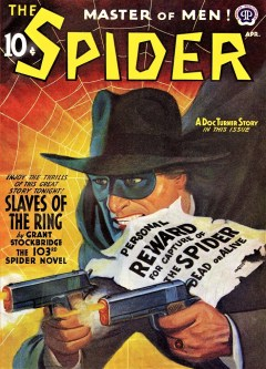 THE SPIDER - April 1942