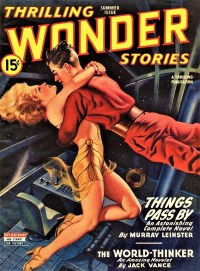 THRILLING WONDER STORIES - Summer 1945