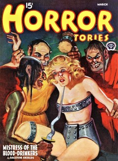 HORROR STORIES - March 1940