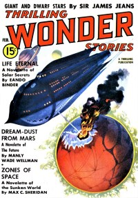 THRILLING WONDER STORIES COVER - February 1938