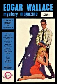 EDGAR WALLACE MYSTERY MAGAZINE - January 1965