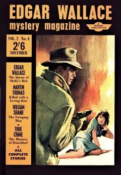 EDGAR WALLACE MYSTERY MAGAZINE - November 1964