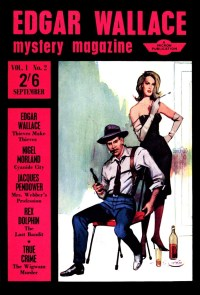 read EDGAR WALLACE MYSTERY MAGAZINE - September 1964