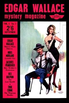 EDGAR WALLACE MYSTERY MAGAZINE - September 1964