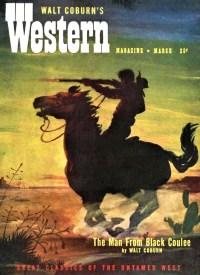 COVER WALT COBURN'S WESTERN MAGAZINE - March 1951