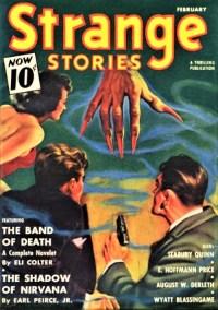 cover STRANGE STORIES - February 1941