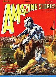 AMAZING STORIES - October 1928