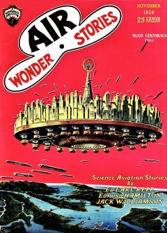 AIR WONDER STORIES - November 1929