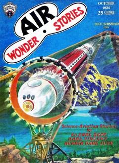 AIR WONDER STORIES - October 1929