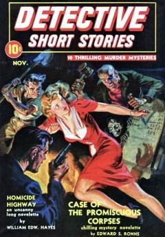 DETECTIVE SHORT STORIES magazine