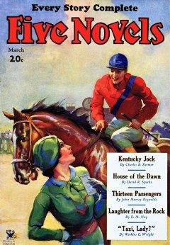 FIVE NOVELS MAGAZINE - March 1934