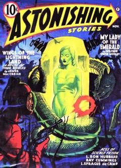 ASTONISHING STORIES - November 1941