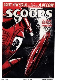 SCOOPS magazine 1934