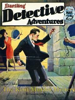 STARTLING DETECTIVE - March 1930