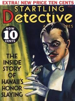 STARTLING DETECTIVE - May 1932